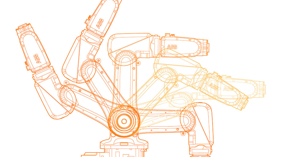 Plan du robot ABB chez MIG