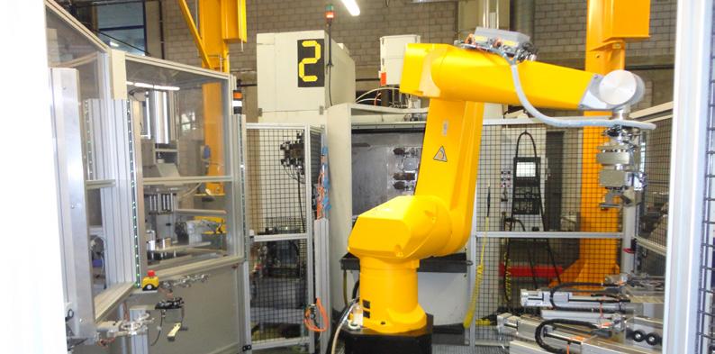 Robot chez Sew Usocome