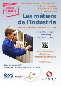 FLYER JOURNEE LES METIERS DE L'INDUSTRIE