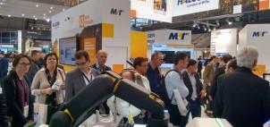La délégation SYMOP sur le stand de MVTech