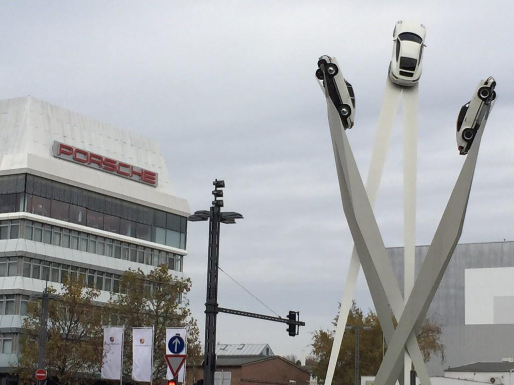 Site Porsche à Stuttgart
